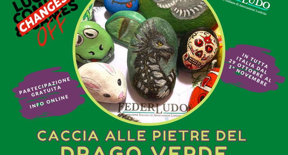 Caccia alle Pietre del Drago Verde - Cerca, Trova, Custodisci una DragonStone firmata