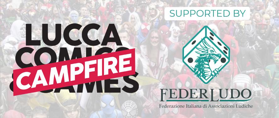 Il sostegno di Federludo per i Campfire di Lucca Comics & Games 2021